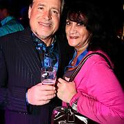 NLD/Baarn/20100107 - Nationaal Songfestival 2010, George Baker met partner Blanche