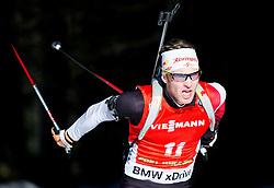 EDER Simon (AUT) competes during Men 12,5 km Pursuit at day 3 of IBU Biathlon World Cup 2014/2015 Pokljuka, on December 20, 2014 in Rudno polje, Pokljuka, Slovenia. Photo by Vid Ponikvar / Sportida