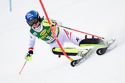 January 7, 2018 - Kranjska Gora, Gorenjska, Slovenia - Bernadette Schild of Austria competes on course during the Slalom race at the 54th Golden Fox FIS World Cup in Kranjska Gora, Slovenia on January 7, 2018. (Credit Image: © Rok Rakun/Pacific Press via ZUMA Wire)