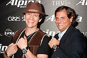 Clifton Collins, Jr., and U.S. President of Frederique Constant / Alpina Watches, Ralph Simons