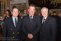 (l to r) Mark Mc Gibney (Sailing Manager, Royal Irish YC), Patrick Burke (Rear Commodore Sailing, Royal Irish YC), andJoe Costello (Vice Commodore, Royal Irish YC) attending the official launch of Volvo Dún Laoghaire Regatta 2017 in the National Maritime Museum of Ireland on Wednesday evening. The Regatta will be among the biggest mass-participatory sporting event in Ireland this year (eclipsed for numbers only by the city marathons).