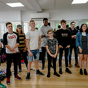 Shaftesbury Ave, London, England, UK. 31st August 2017. London's top young buskers will take part in a boot camp with music industry experts, preparing for Mayor's Gigs competition at the Umbrella Rooms music studios before going head-to-head at the Gigs Grand Final over the weekend.