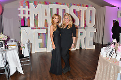 Left to right, sisters INDIA SELLARS and SINCLAIR SELLARS at a party to celebrate the new partnership of Maids to Measure with Touker Suleyman held in The Winter Marquee, Home House, 20 Portman Square, London on 2nd March 2016.