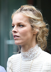© Licensed to London News Pictures. 10/06/2016. London, UK. Eva Herzigova arrives at the opening for London Collections Men at 180 The Strand. Photo credit : Tom Nicholson/LNP