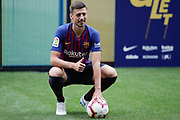 Presentation of Clement Lenglet as new player of the FC Barcelona on July 13, 2018 at Camp Nou stadium in Barcelona, Spain - Photo Andres Garcia / Spain ProSportsImages / DPPI / ProSportsImages / DPPI
