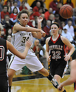 Orrville vs. Youngstown Ursuline girls varsity basketball in an OHSAA Regional Semi Final on March 9, 2011.