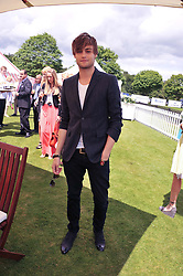DOUGLAS BOOTH at the Cartier Queen's Cup Polo Final, Guards Polo Club, Windsor Great Park, Berkshire, on 17th June 2012.