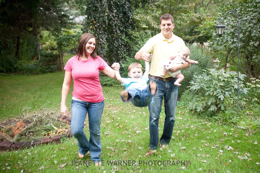 Family portraits in Fenton, MI.