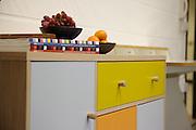 Furniture designer Leonhard Pfeifer's Hackney studio, London. Piece shown is the Abbeywood sideboard, manufactured in Estonia by Woodman<br /> CREDIT: Vanessa Berberian for The Wall Street Journal<br /> GURU-Pfeifer