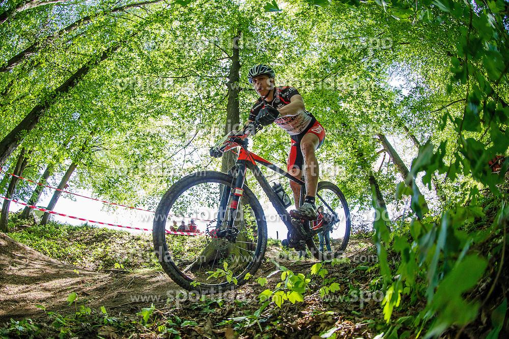 Cross Country XC Mountain bike race for Slovenian National Championship in Kamnik, on April 30, 2016 in Kamnik, Slovenia. Photo by Grega Valancic / Sportida