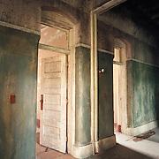 Door and Hallway, Northampton State Hospital, Northampton, MA
