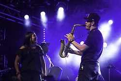 November 10, 2017 - SÃO PAULO, SP - 10.11.2017: PIXOTE 25 ANOS - Pixote Group's 25-year show at the Bulls Club in São Paulo this Thursday (09) (Credit Image: © Fotoarena via ZUMA Press)
