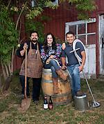 Jesús Guillén, Sofía Torres McKay and Miguel Lopez