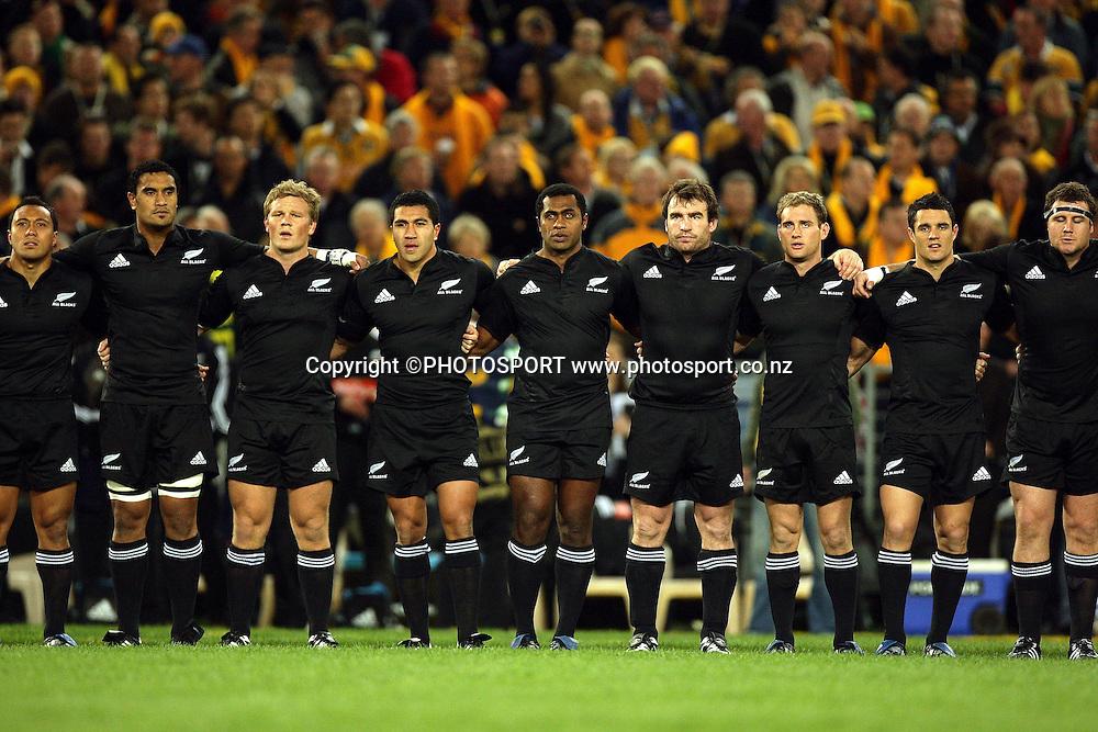 Philips Tri Nations, Australia v All Blacks, ANZ Stadium, Homebush, Sydney, Saturday 26 July 2008. Photo: Paul Seiser/PHOTOSPORT