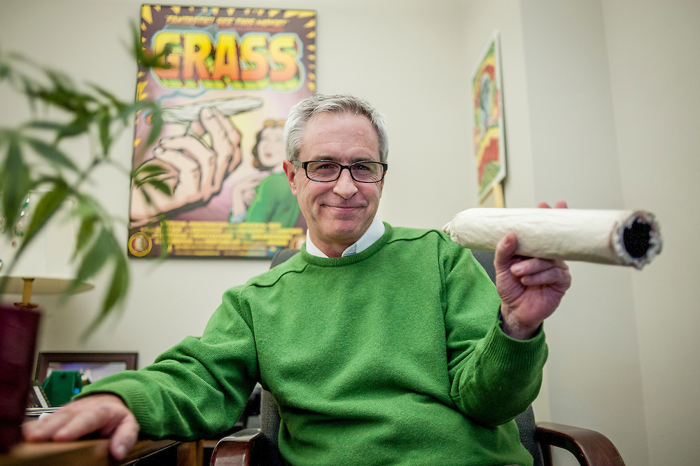 Allen St. Pierre, executive director of NORML, is at the forefront of one of the biggest political trends sweeping the country – an effort to legalize marijuana, a movement that is beginning to rival gay marriage as a motivating factor at the polls.