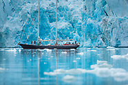 Sailing the Arctic fjords of Spitsbergen