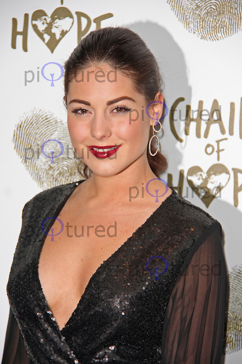 Louise Thompson, Chain of Hope Annual Ball 2014, Grosvenor House, London UK, 21 November 2014, Photo By Brett D. Cove