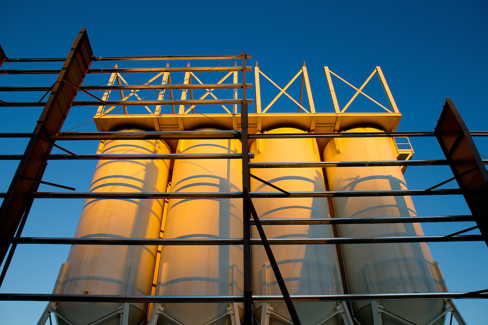 Storage tanks at sunset, Commercial and Industrial Photography, Architectural photography, Tucson, Phoenix