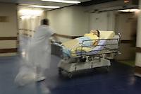 "Hospital St. Louis, Paris..scenes in the ""Salle de Reveille"" the post op recovery room........model released for corbis......"