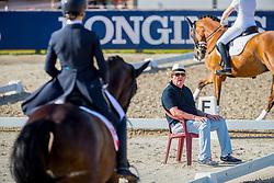 Hofer Otto, SUI<br /> European Championship Children, Juniors, Young Riders - Fontainebleau 1028<br /> © Hippo Foto - Leanjo de Koster<br /> Guerra Léonie, SUI, Atnon