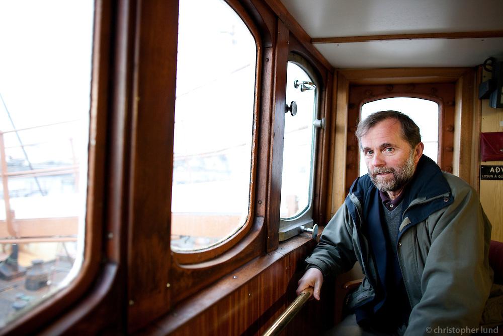 Kristján Loftsson, whale catcher and owner of Hvalur hf.