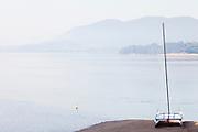 A view of Urdaibai from Laida beach.