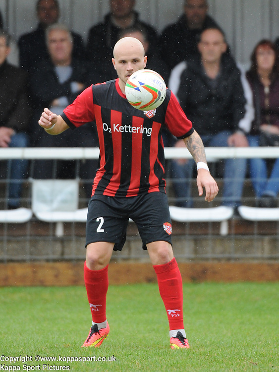 James Clifton, Kettering, Kettering Town v Daventry Town Southern League Division One Central, 25th August 2014