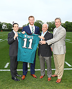 29 APR 2016: The Philadelphia Eagles took Carson Wentz the number 2 overall pick during the first round of the 2016 NFL Draft.(TJ Engler-ContrastPhotography.com)