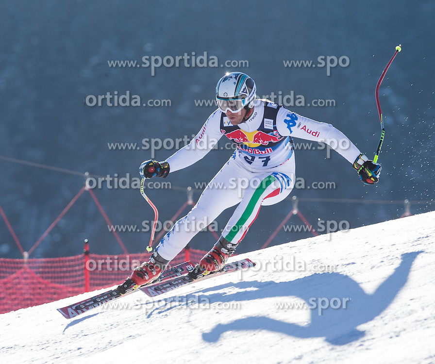 23.01.2013, Streif, Kitzbuehel, AUT, FIS Weltcup Ski Alpin, Abfahrt, Herren, 2. Training, im Bild Werner Heel (ITA) // Werner Heel of Italy in action during 2nd practice of mens Downhill of the FIS Ski Alpine World Cup at the Streif course, Kitzbuehel, Austria on 2013/01/23. EXPA Pictures © 2013, PhotoCredit: EXPA/ Johann Groder