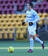 FODBOLD: Mikkel Fossum Basse (FC Helsingør) under træningskampen mellem FC Nordsjælland og FC Helsingør den 20. januar 2017 i Farum Park. Foto: Claus Birch