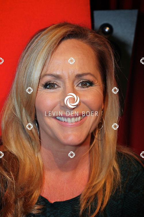 BUSSUM - In theater het Spant is de persviewing van The Voice Of Holland gehouden.  Met op de foto coach Angela Groothuizen. FOTO LEVIN DEN BOER - PERSFOTO.NU