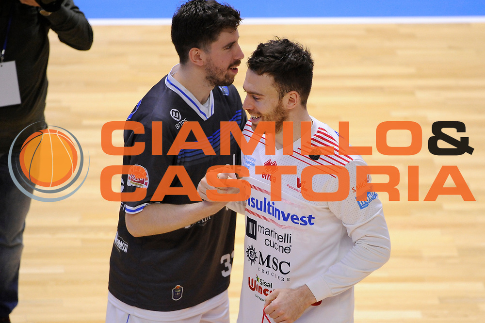Sgobba Giorgio<br /> Enel Brindisi - Consultinvest Pesaro<br /> Lega Basket Serie A 2016/2017<br /> Brindisi, 09/04//2017<br /> Foto Ciamillo-Castoria