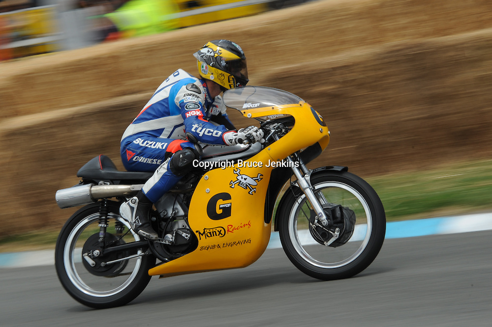 Guy martin from UK at the Cemetery Circuit Road Races, Wanganui, Boxing Day which was the 3rd and final round of the 2014 Suzuki Series