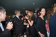 JOE JOHNSON; JEMIMA KHAN JEMIMA KHAN, Party to celebrate the publication of 'Winter Games' by Rachel Johnson. the Draft House, Tower Bridge. London. 1 November 2012.