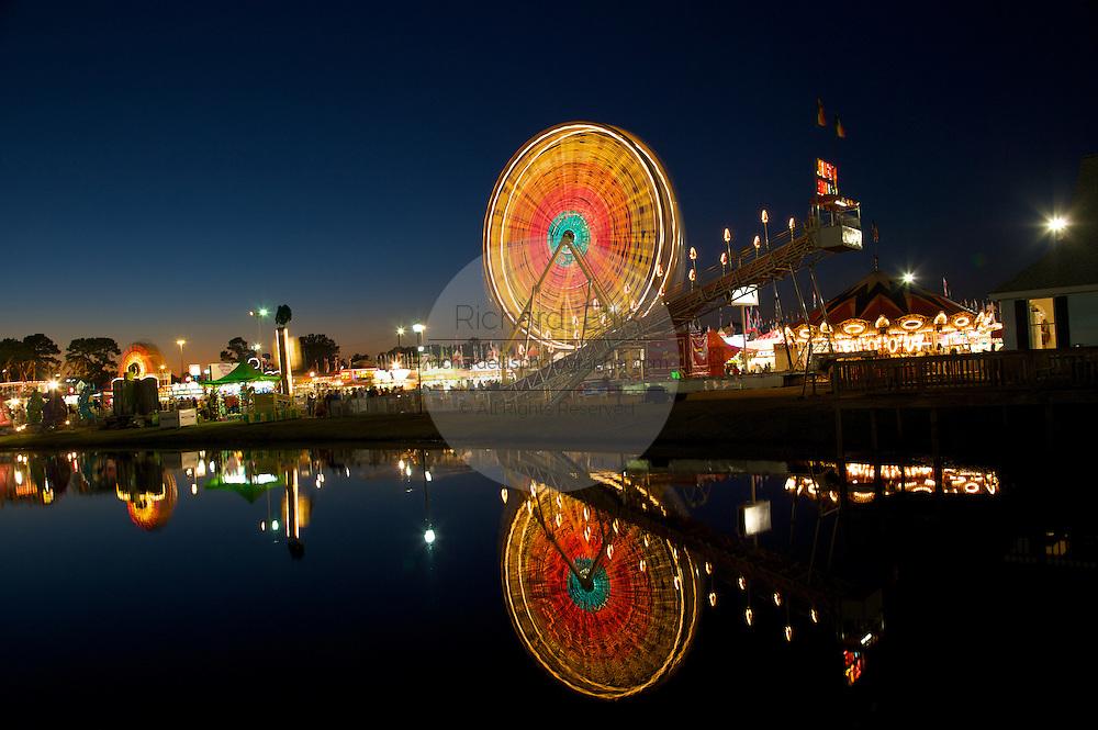 The Coastal Carolina Fair in Charleston, South Carolina.