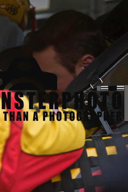 Kurt Busch in #22 car prior to the start of the 42 Annual Sprint Cup Series Sunday, Oct. 02, 2011 at Dover International Speedway in Dover Delaware.