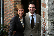 Hare Koninklijke Hoogheid Prinses Alexia, de jongste dochter van Zijne Koninklijke Hoogheid de Prins van Oranje en Hare Koninklijke Hoogheid Prinses M&aacute;xima, is zaterdag 19 november 2005 gedoopt in de Dorpskerk in Wassenaar. <br /> <br /> Baptism of Princess Alexia, the youngest daughter of Prince Willem-Alexander and Princess M&aacute;xima. Princess Alexia (born June 26, 2005) has been baptized in the church in Wassenaar. The ceremony was attended by The Dutch Royal Family and the parents of Princess M&aacute;xima.  <br /> <br /> Op de foto / On the photo:<br /> <br /> Zijne Hoogheid Prins Maurits van Oranje-Nassau, van Vollenhoven, Hare Hoogheid Prinses Maril&egrave;ne van Oranje-Nassau, van Vollenhoven