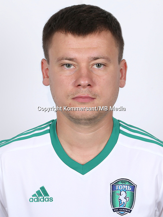 Portraits, FC Tom Tomsk, August 2016, Russian Premier League