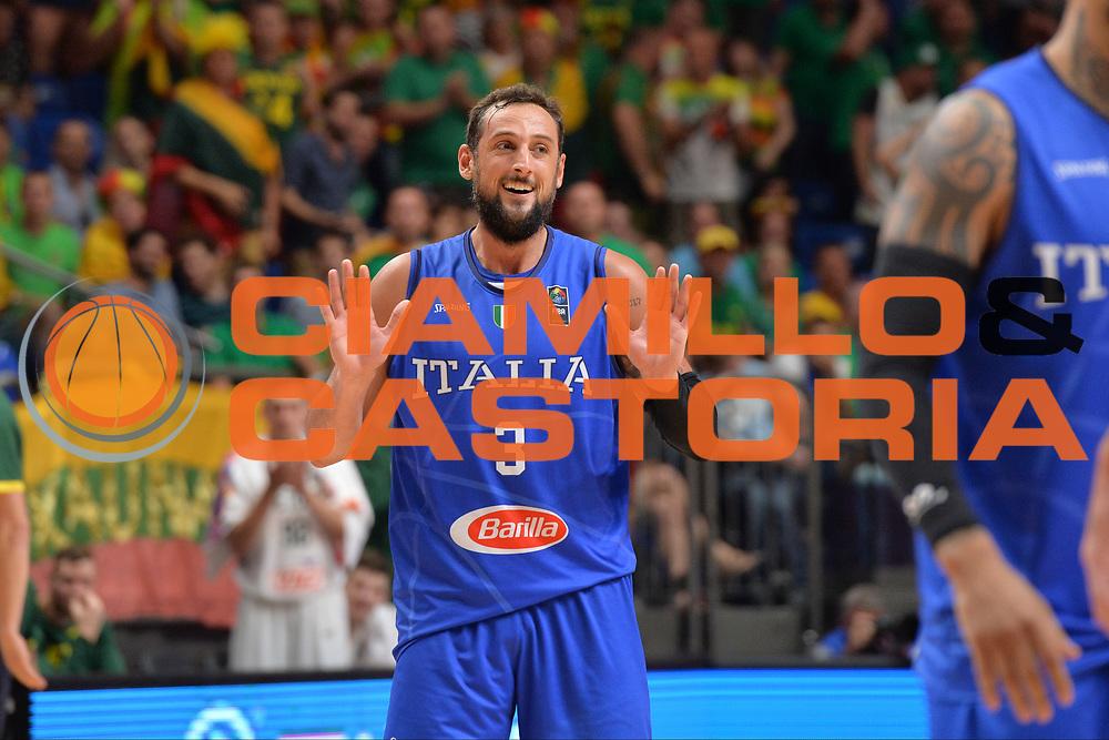 Marco Belinelli<br /> Nazionale Italiana Maschile Senior<br /> Eurobasket 2017 - Group Phase<br /> Lituania - Italia<br /> FIP 2017<br /> Tel Aviv, 03/09/2017<br /> Foto Ciamillo - Castoria/ M.Longo