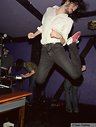 The Errorplains, jumping high kicking his feet up, The Junk Club, Southend, UK 2006