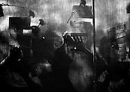 Madres de desaparecidos politicos poner flores y nombres en una manta donde se construira el monumento a las victimas de la pasada guerra civil, en el parque Cuscatlan, San Salvador.(IL/Edgar Romero Photo).