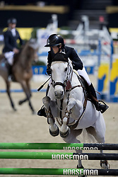 Vranken Chloe, (BEL), Elton Jones<br /> CSI2* Ifor Williams Prijs<br /> Vlaanderens Kerstjumping Memorial Eric Wauters<br /> © Dirk Caremans<br /> 27/12/2016