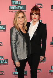 "Samantha Bee and Molly Ringwald at the TBS Television Network For Your Consideration Event for ""Full Frontal With Samantha Bee"" held at the Writers Guild Theater in Beverly Hills."