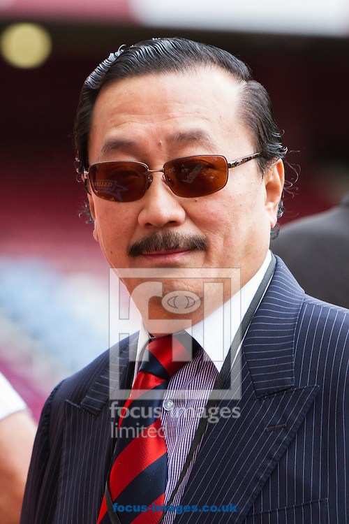 Picture by Daniel Chesterton/Focus Images Ltd +44 7966 018899<br /> 17/08/2013<br /> Cardiff City owner Vincent Tan before the Barclays Premier League match at the Boleyn Ground, London.