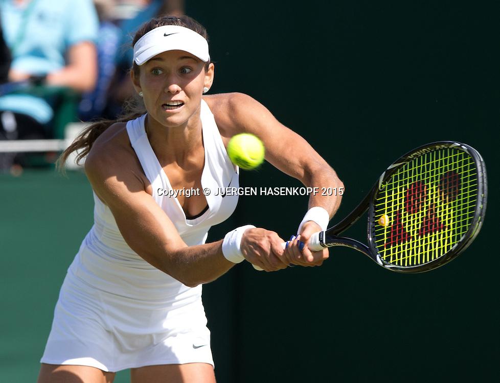 Vitalia Diatchenko (RUS)<br /> <br /> Tennis - Wimbledon 2015 - Grand Slam ITF / ATP / WTA -  AELTC - London -  - Great Britain  - 29 June 2015.