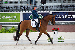 Sanne Voets, (NED), Vedet Pb - Team Competition Grade III Para Dressage - Alltech FEI World Equestrian Games™ 2014 - Normandy, France.<br /> © Hippo Foto Team - Jon Stroud <br /> 25/06/14