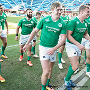 Ireland beat Canada to win the Bowl at the Silicon Valley Sevens in San Jose, California. November 4, 2017. <br /> <br /> By Jack Megaw.<br /> <br /> <br /> <br /> www.jackmegaw.com<br /> <br /> jack@jackmegaw.com<br /> @jackmegawphoto<br /> [US] +1 610.764.3094<br /> [UK] +44 07481 764811