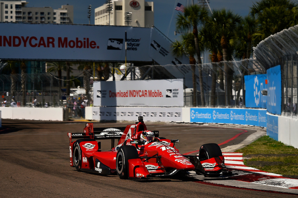11-13 March, 2016, St Petersburg, Florida USA<br /> 15 Graham Rahal<br /> &copy;2016 Scott R LePage <br /> LAT Photo USA