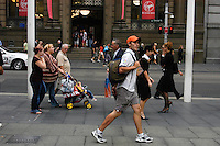 Street scene in Sydney CBD, NSW, Australia.