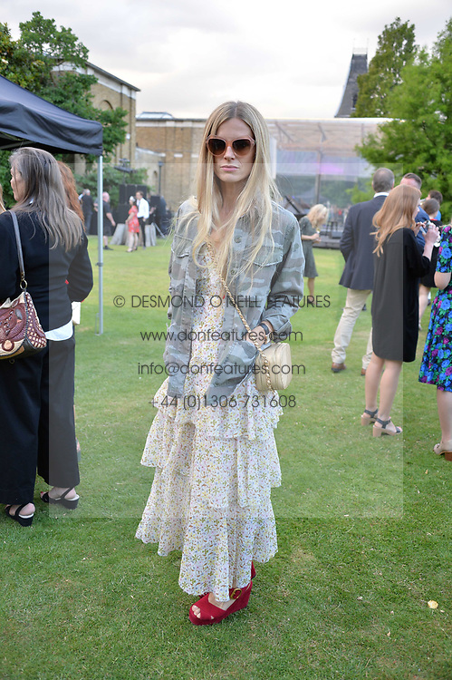 Laura Bailey at the Dulwich Picture Gallery's inaugural Summer Party, Dulwich Picture Gallery, College Road, London England. 13 June 2017.